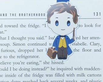 Newt - Magnetic bookmark - Fantastic Beasts || book lover gifts | harry potter | bookmark | bookish | bookmarks | newt scamander