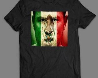 Canelo Alvarez MEXICAN Pride Boxing OLDSKOOL Artwork Quality Shirt S-XXXXL