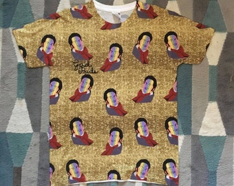 Gad Pride Beauty and the Beast Le Fou Print All Over Shirt,
