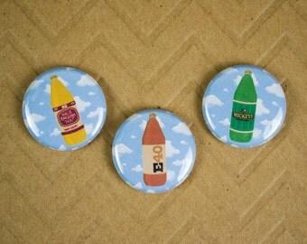 SET - Malt Liquor Pins