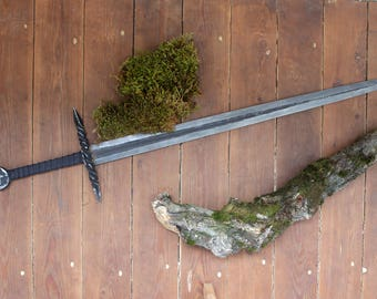 Hand forged sword from Siberia. One handed.