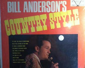 Bill Anderson Country Style Sealed Vinyl Record Album