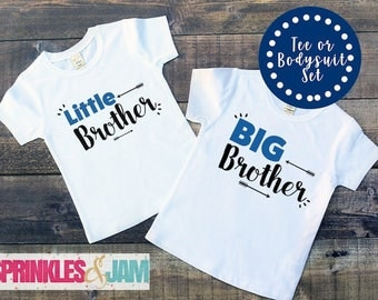 Big Brother Little Brother Shirt, Big Brother Little Brother Set, Big Brother Out, Sibling Shirt Set
