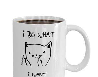 I Do want I want funny coffee mug