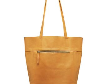 leather tote bags -  leather tote -  leather totes -  brown leather tote - leather zip tote - ON SALE - dispatched next business day