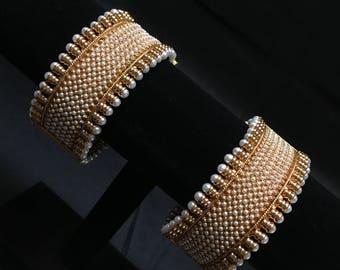 Indian Kangan - Indian Bangles - Indian Jewelry - Pakistani Jewelry - Bollywood Jewelry - Indian Bridal Bangles - Temple Jewelry - Polki -