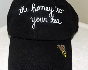 Bee Mine Dad Hat