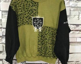 Vintage Mr Junko Koshino Sweatshirts Size Medium M / Junko Koshino sweatshirt / Mr Junko hoodie / Michiko Koshino Sweatshirts