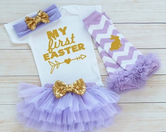 Baby Girl Easter Bodysuit, My First Easter, Baby Easter Outfit, Baby Girl Easter, Baby Easter Shirt, Easter Outfit, Baby Girl Easter Gift,