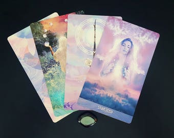 Three Card Intuitive Reading for Lightworkers & Starseeds | The Starchild Tarot- Akashic Deck| Sent via e-mail in PDF Format