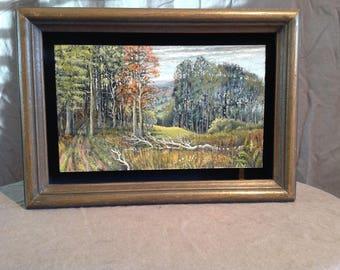 Peter Ford Original Painting Listed UK Artist British Landscape
