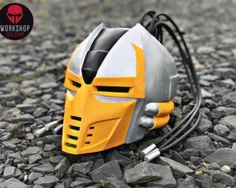Cyrax helmet from the game Mortal Kombat 3 / 9 (classic skin)