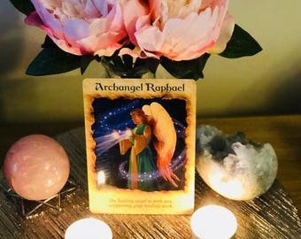 Daily Angel Card Reading, Spirit Guided by Reader of 28 years experience