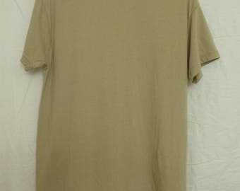 Authentic Army Short Sleeve Tees (Available in Desert Tan, Brown, and Olive Drab/Army Green)