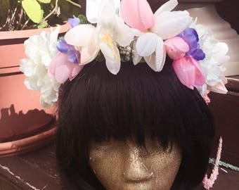 Spring Fairy Flower Crown