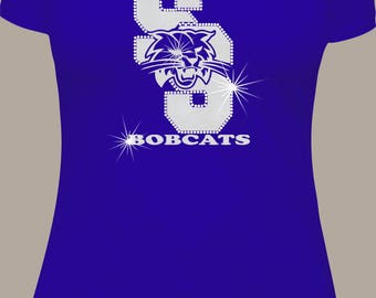 South San Bobcats Glitter and Rhinestones