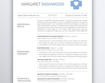medical resume etsy - Resume Templates Rn