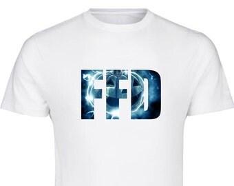 Classic Firefish Design T-Shirt - Kids/Adults, Christmas, Birthday, Halloween, Pumpkin, Scary
