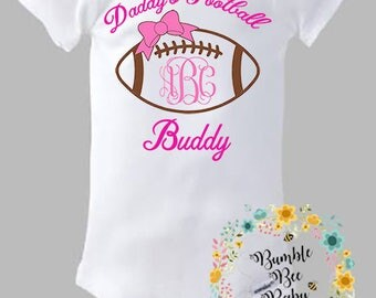 Daddy's Football Buddy - Free Bow Included