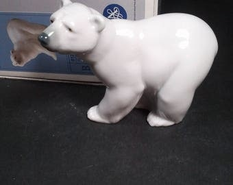 Lladro Polar Bear in PRISTINE condition