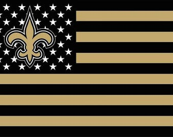 SUMMER SALE New Orleans Saints Flag and Banner 3' x 5'