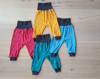 Baby-Pants: Glückskind |70% Merinowool & 30 Silk organic/GOTS - handcrafted