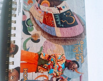 Jazzy Jeff and the Fresh Prince Journal, Cool Notebook, Fresh Prince, Hip Hop, Rap, Small Journal, Small Notebook, fan art, 90s, 90s rap