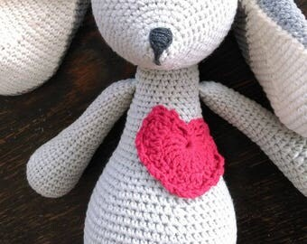 crochet bunny to love kids