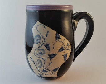 Pottery mug, gift under 25