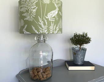 Bespoke Country Style Print Lamp shade