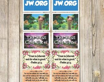 Jw Sticker Set - 10pc