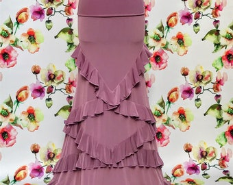 Flamenco Skirt Model Dulcinea