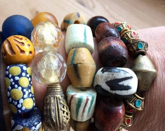 Colorful bracelets from Africa