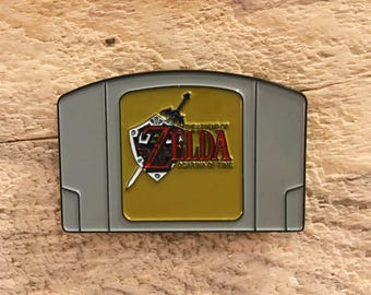 The Legend Of Zelda The Ocarina Of Time Enamel Pin
