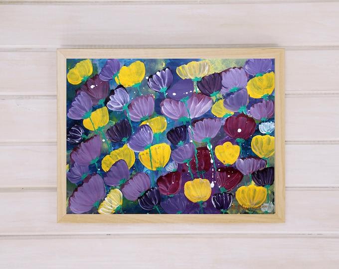Smells like love 42x30cm Original Floral Painting