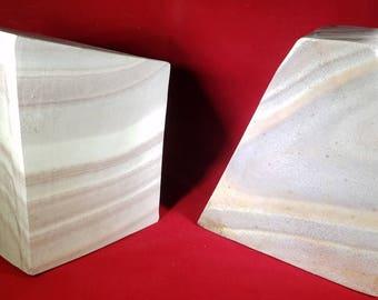 Wonderstone Rhyolite Jasper Home Decor or Bookends Indoor