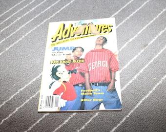 Kris Kross 1992 JUMP Disney Adventures Magazine Rap Hip Tape Hop 1990s Teen 90s Music Chris Mac Daddy Kelly Chris Daddy Mac Smith