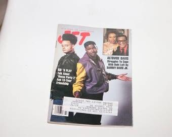 Kid N Play Vintage 1993 Jet Magazine Music Vintage Hip Hop Old Tape School 1980s 1990s Rap Music Christopher Reid Christopher Martin