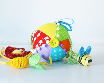 Soft sensory ball for babies
