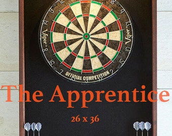 Dart board  dartboard cabinet man cave decor game room Bar games gift for dad or mom personalized gift furniture Home & living