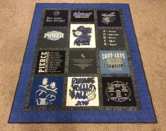 T Shirt Memory Quilts
