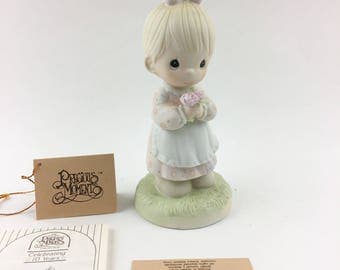 Vintage Precious Moments Mommy I Love You  Figurine 112143