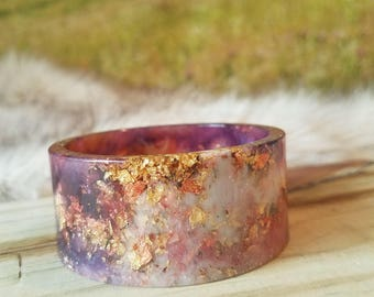 Sunset Multi Resin Bangle