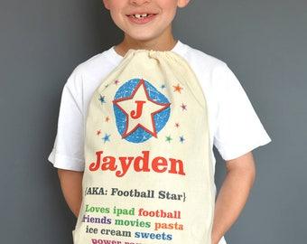 Personalised Child's Drawstring Bag
