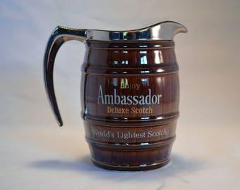 Ambassador Deluxe Scotch Pitcher