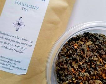 Harmony tea, from Aroma to Zen