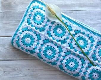 Crochet baby blanket, natural cotton baby blanket, newborn blanket, first birthday gift, grandmum square blanket, soft handmade blanket