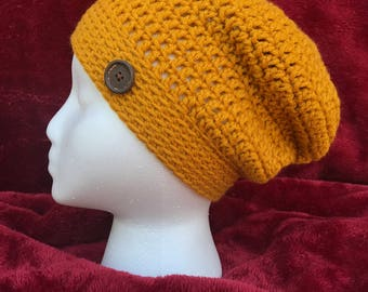 Super stylish and soft slouchy hat!