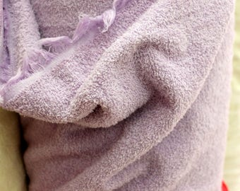 Lila Terry Cloth, By the Yard For Towels, Hair Wrap Towels, Personal Hygiene, Baby Wash Clothes, Diy Zero Waste Towels