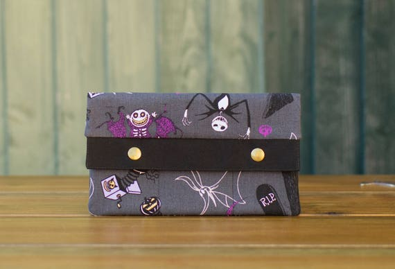 Nightmare Before Christmas Grey Wallet
